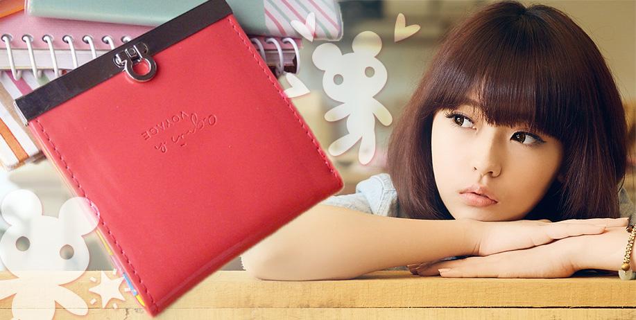 Korean Wallet, Dompet dengan Bentuk yang Cantik dan Menarik
