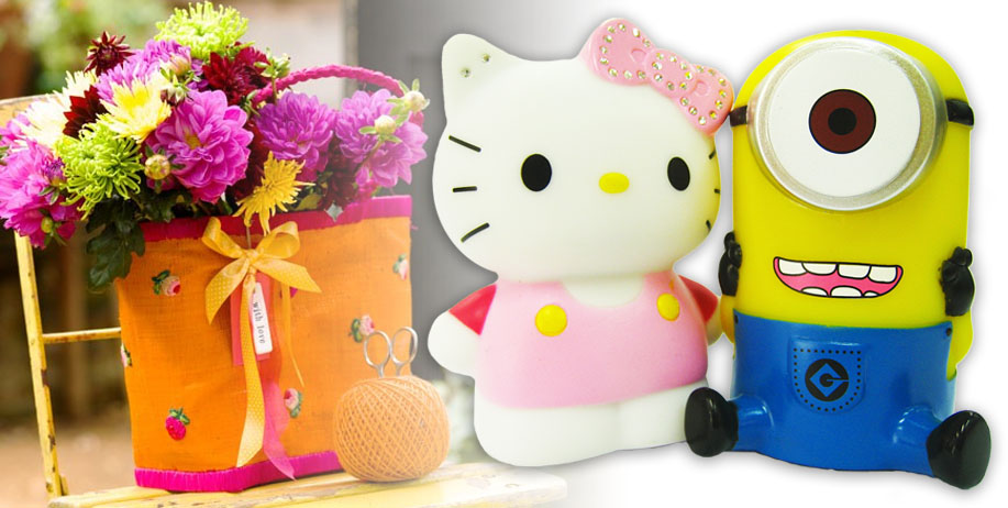 Power Bank Minion 3D 5600 mAh & Hello Kitty 3D 5600 mAh