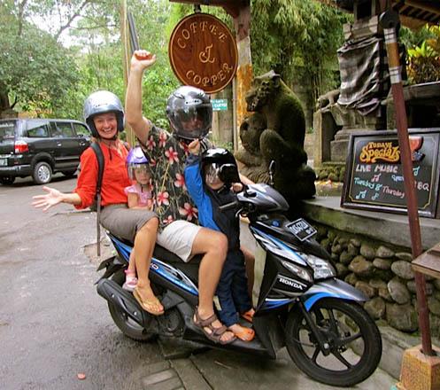 Motorbike Rental Bali 02