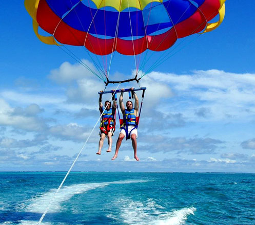 Parasailing and Parasailing Adventure in Bali