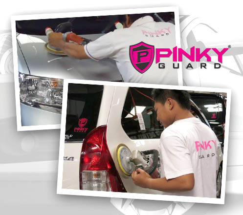 Car Paint Protection Packages at Pinky Guard Jakarta