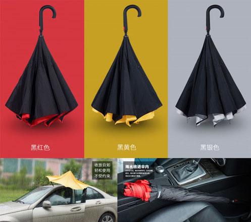 REMAX Car Reverse Inverted Two Way Umbrella RT-U1