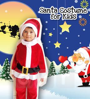 Baju Santa Anak-Anak Umur 6 Tahun