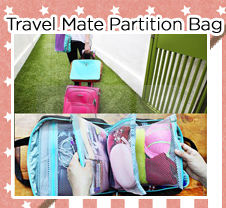 Travel Mate Partition Bag