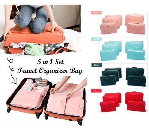 Travel Organizer Bags 5 in 1