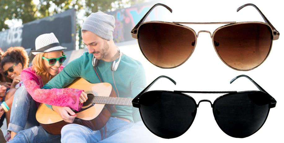 Bergaya Sekaligus Melindungi Mata dengan Aviator Sunglasses