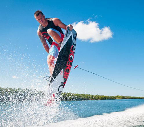 Wake Board at Bali 02