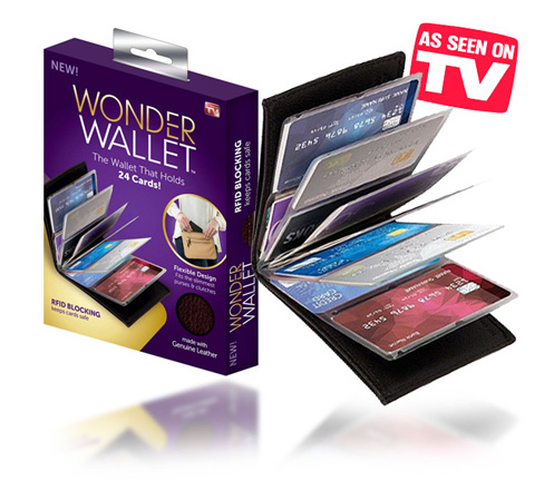 Wonder Wallet for up to 24 cards