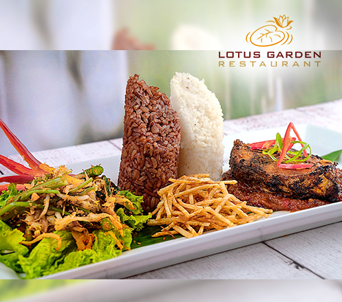 Nasi Bumbu Runcing at Lotus Garden Restaurant