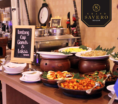 AYCE Breakfast and Lunch at Grand Savero - Bogor
