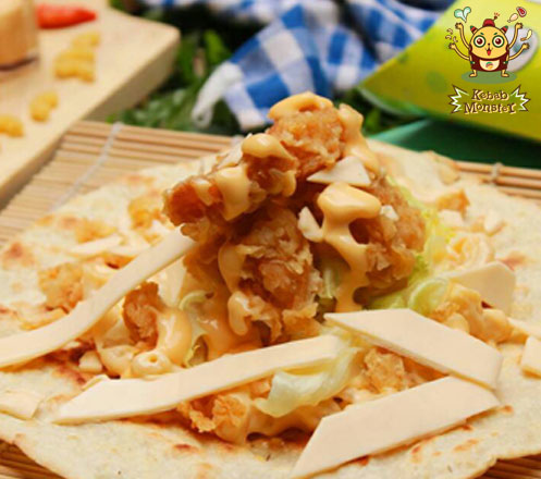 Triple Cheese Chicken Kebab dari Kebab Monster