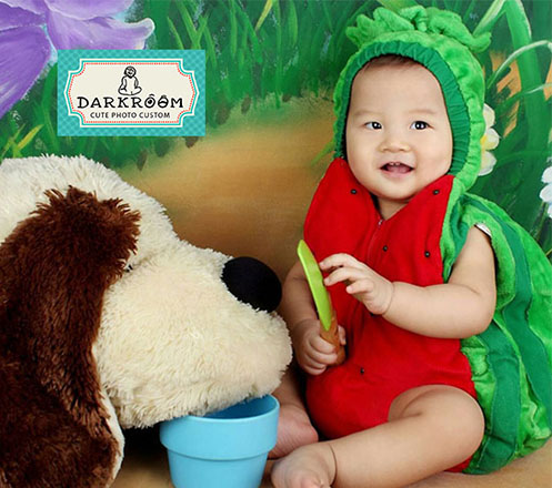Baby Single Photoshoot from Darkroom Studio