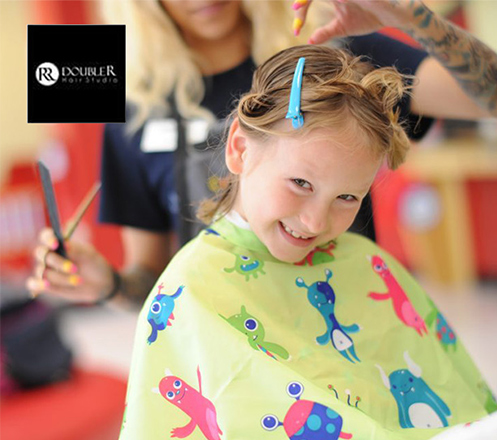 Kids Haircut at DoubleR Hair Studio Central Park