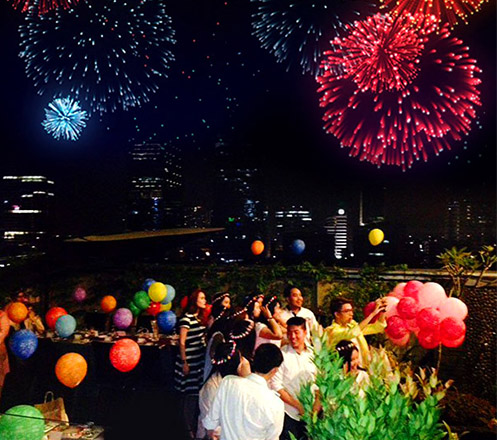 New Year Eve Dinner & Party at GP Hotel Mega Kuningan