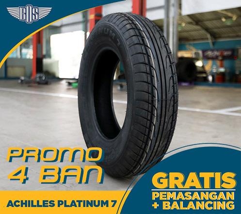 Promo 4 Ban Mobil Achilles Platinum 7 - 165-80 R13 83H