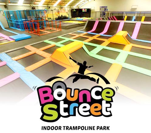 Entrance Ticket Bounce Street Asia (Trampoline Park)