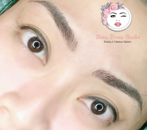 Eyebrow, Lips, Eyeliner, Hairline, dan Bald dari Sista Brow Studio
