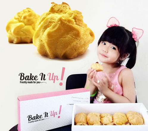 Paket Pilihan Rasa kue Sus di Bake IT Up