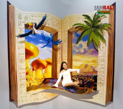 I AM 3D Interactive Museum Bali