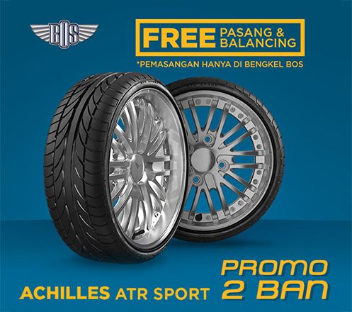 Promo 2 Ban Mobil Achilles ATR Sport - GRATIS PASANG DAN BALANCING