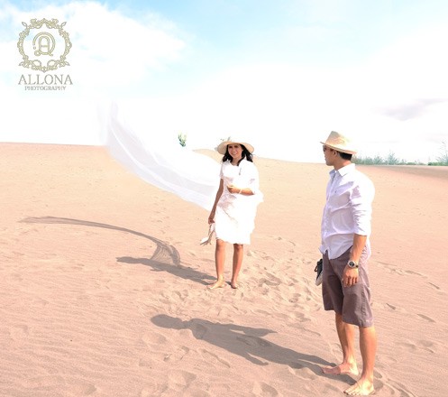 Desert Prewed Photo Session from Allona Photography