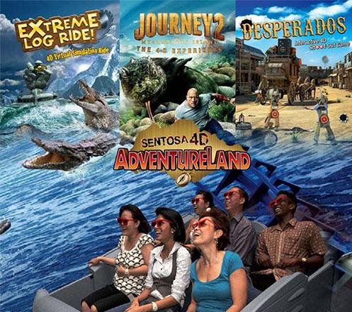 Sentosa 4D Adventureland (Unlimited)