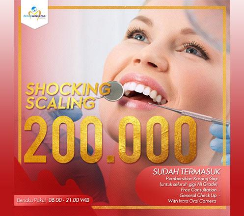 Shocking Scaling dari Dental Universe Indonesia