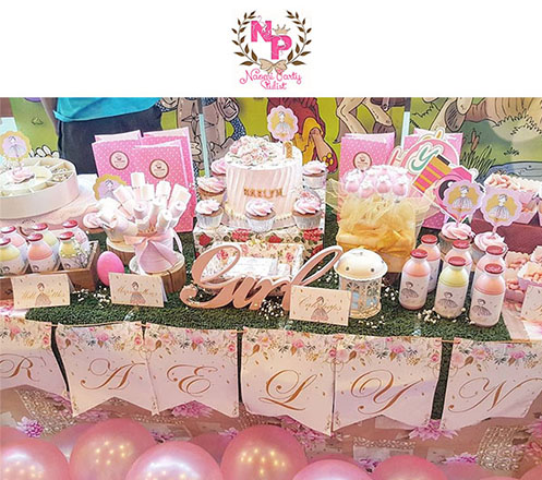 Dessert Table for Kids Birthday from Kleincake Gifts