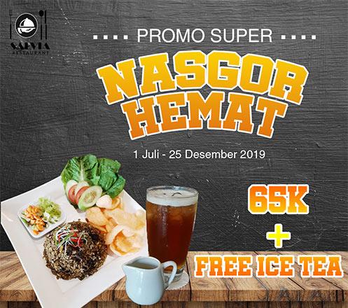 Promo Spesial Nasi Goreng Festival Dari Shalva Hotel Dengan Rp 65 000 Hanya Di Ogahrugi