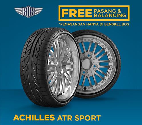 Ban Mobil Achilles ATR Sport - 205/55 R16 91V - GRATIS PASANG DAN BALANCING1