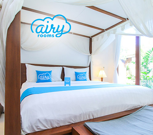 Voucher Airy Rooms - WeekEnd (100K for 10K)