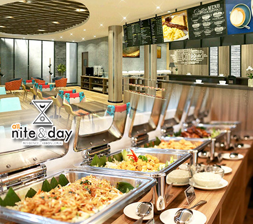 Paket Buffet 10 Pax dari All Nite & Day Residence