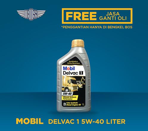 Mobil Delvac 1 5W-40 (1 GALON)