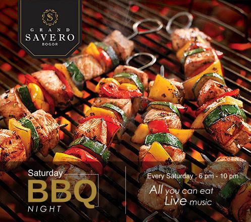 AYCE Saturday BBQ Night at Grand Savero Hotel - Bogor