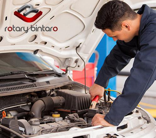 Service AC Mobil dari Rotary Bintaro Cab. Veteran Bintaro
