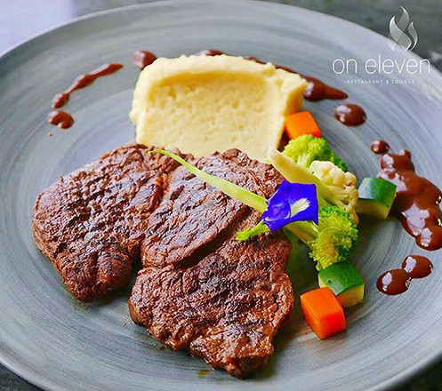 Valentines Day Dinner for Couple at On Eleven Ascott Kuningan