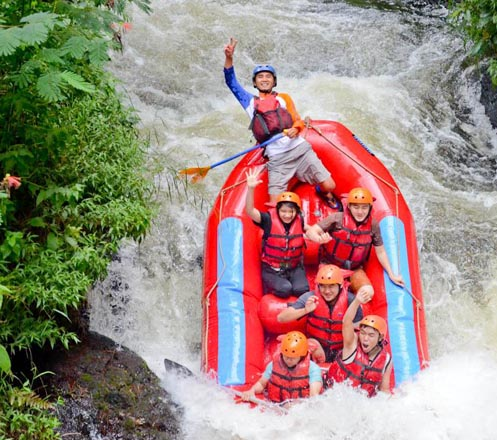One Day Trip Rafting Pengalengan Bandung