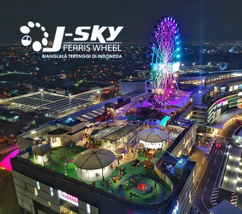 J-Sky Ferris Wheel - Bianglala Tertinggi di Indonesia