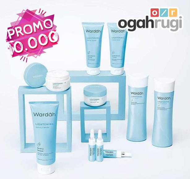 Perawatan Wardah Lightening Series Cuma Rp 10.000