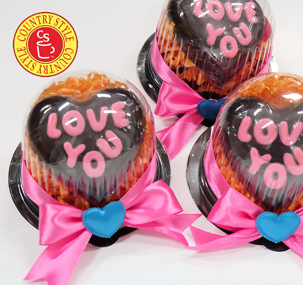 Country Style Chocolate Valentine