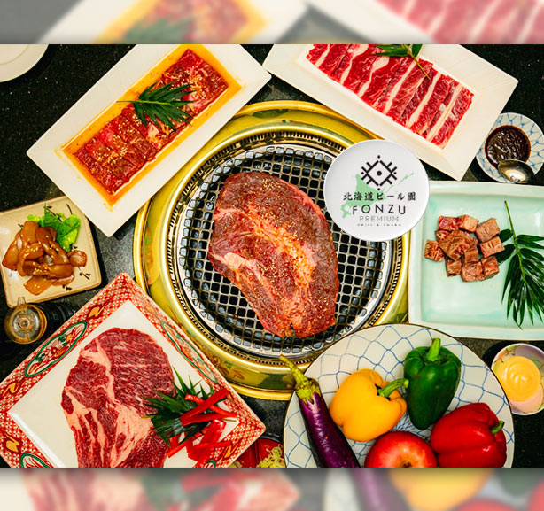 Fonzu Premium All You Can Eat Yakiniku & Shabu-shabu