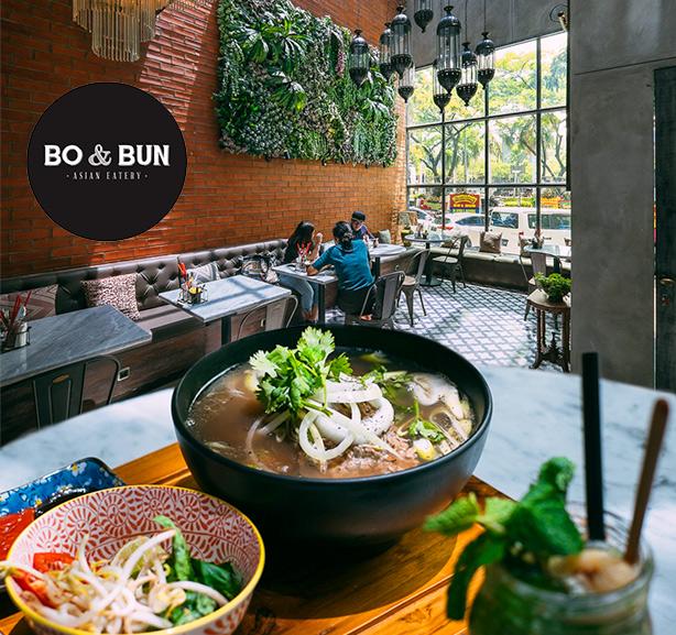 Voucher Value Rp 100.000 dari Bo & Bun Restaurant