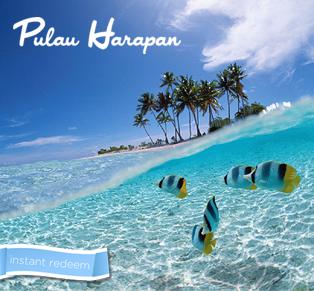 2D1N to Harapan Island...