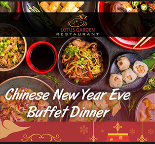 Chinese New Year Eve Buffet...