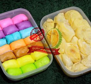 Pancake Durian & Durian...