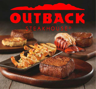Voucher Outback Steakhouse...