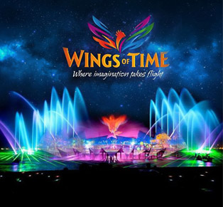 Wings Of Time Singapore...